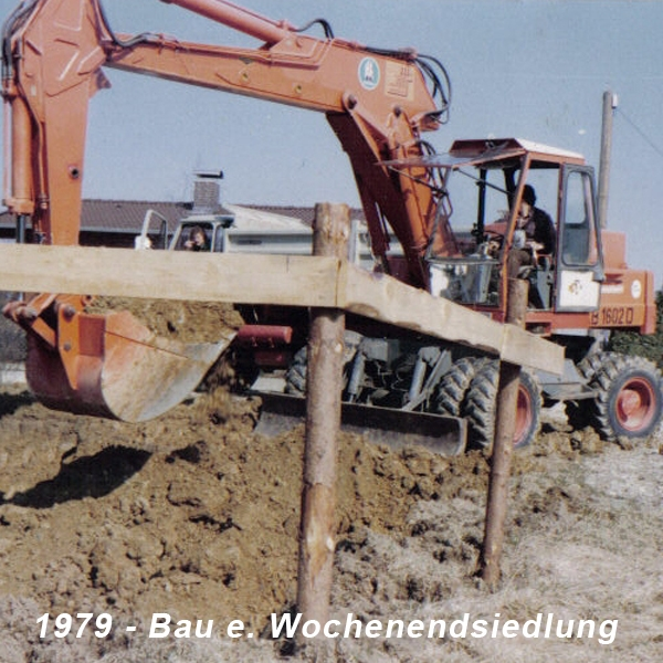 1979 Bau einer WE-Siedlung